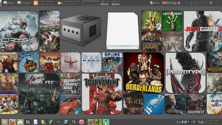 My desktop by BobDoleo