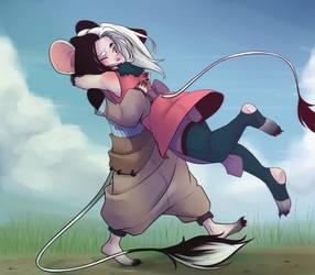 Koko and Hikkie by AliceBullshit