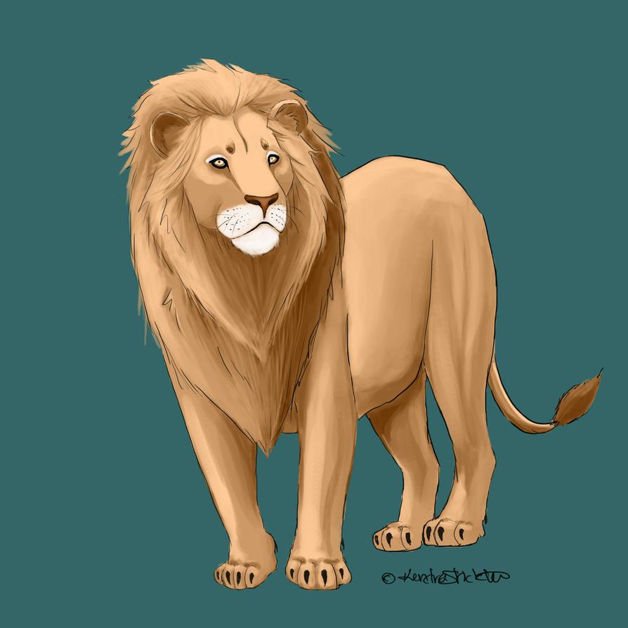 lion by xXBlackDawnRisingXx