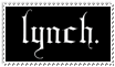 lynch. stamp by Koharu-Mihashi