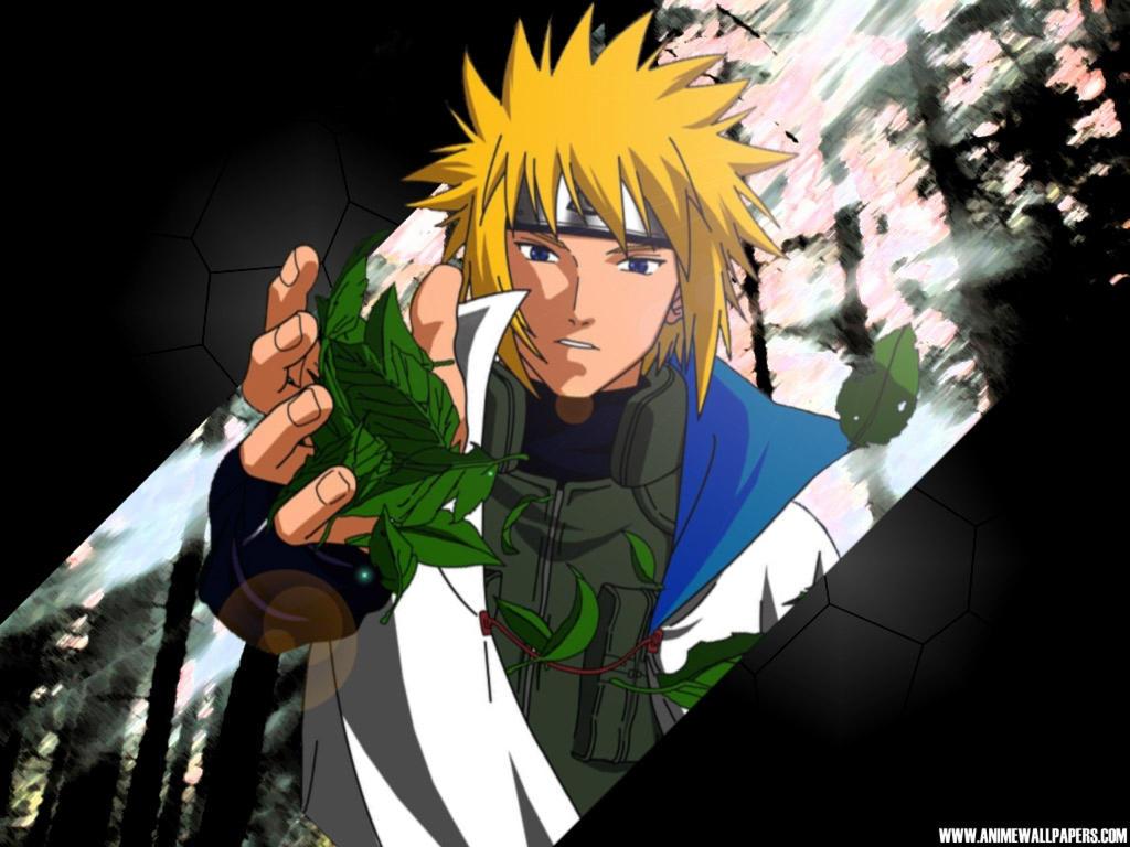 Naruto Shippuden Yondaime 4th Naruto 4 Hokage