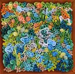 Coral reef artwork