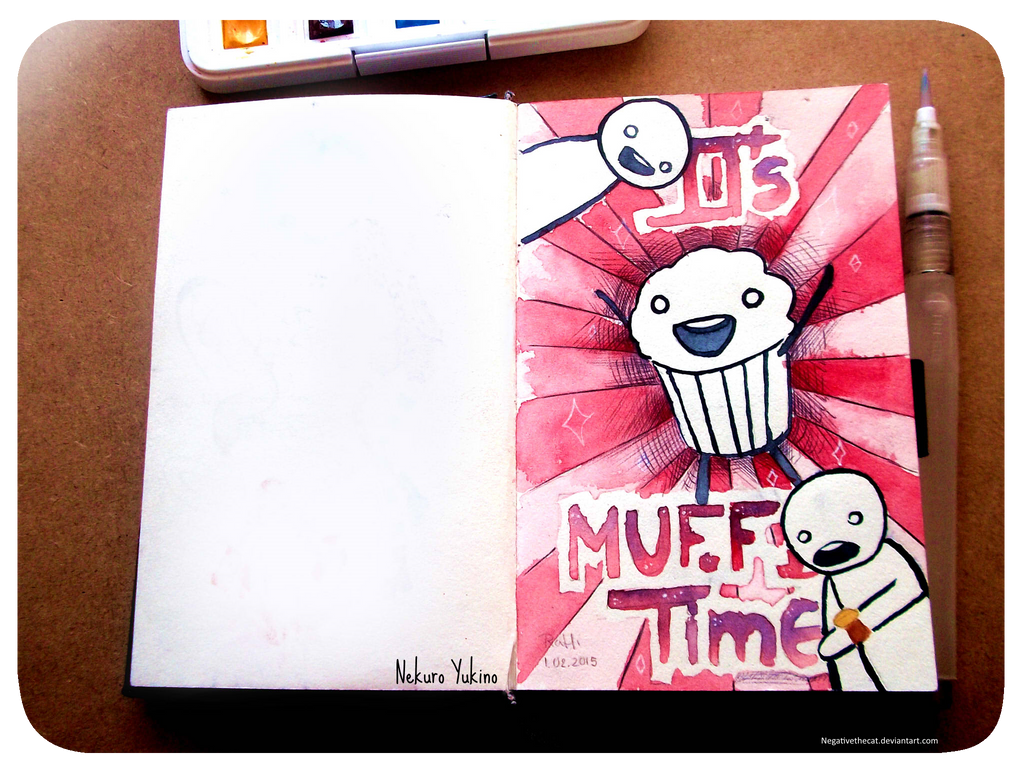 .: IT'S MUFFIN TIME!! :. by Negativethecat