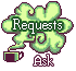 Green Tea: Requests Ask by Sharkysaur