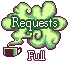 Green Tea: Requests Full by Sharkysaur