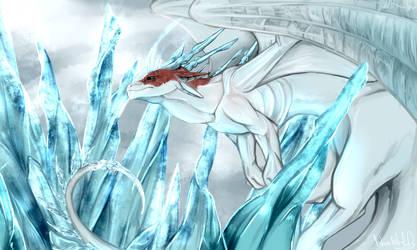 Todoroki Shouto dragon version [MHA FanArt] by NashiHoly