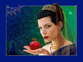 Hera: Queen of Heaven by iizzard