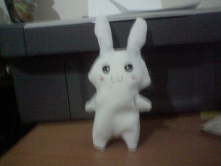 Coniglietto bianco by tsuyuchan