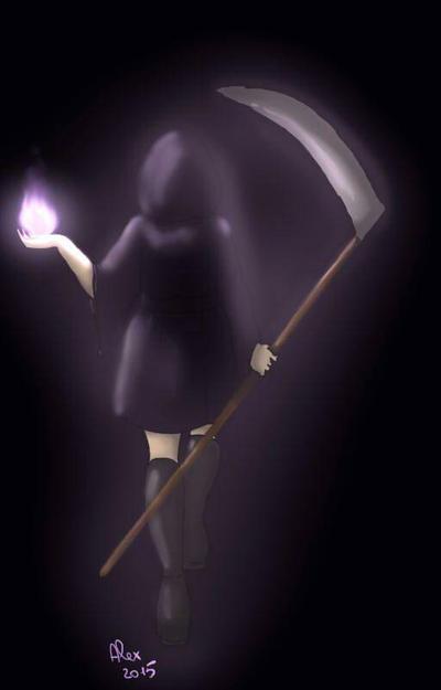 La morte  by tsuyuchan
