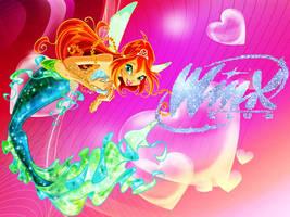 Bloom mermaid by Kitty-Woods