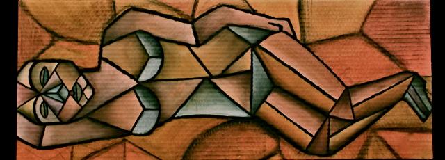 Attempt at Cubism by TatiTerrestrial