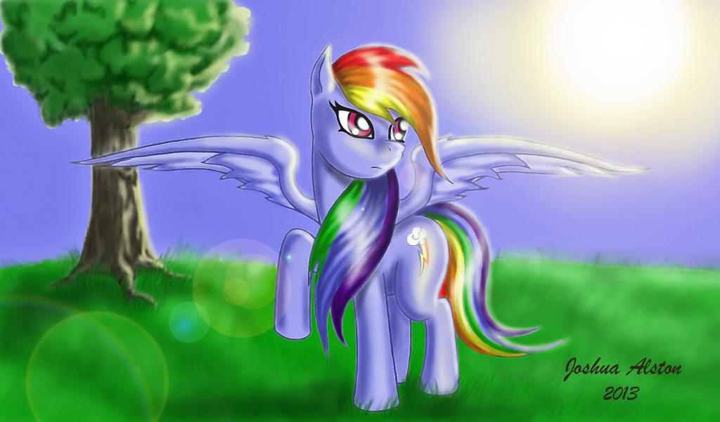 Rainbow Dash by Aether45