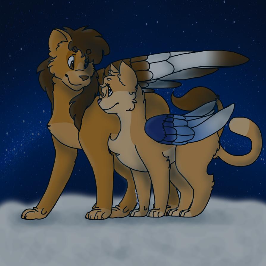 Night flight by Desteny-Love