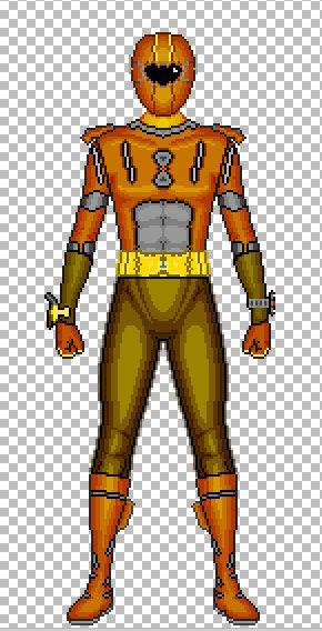 Orange of Supido Sentai Flashman