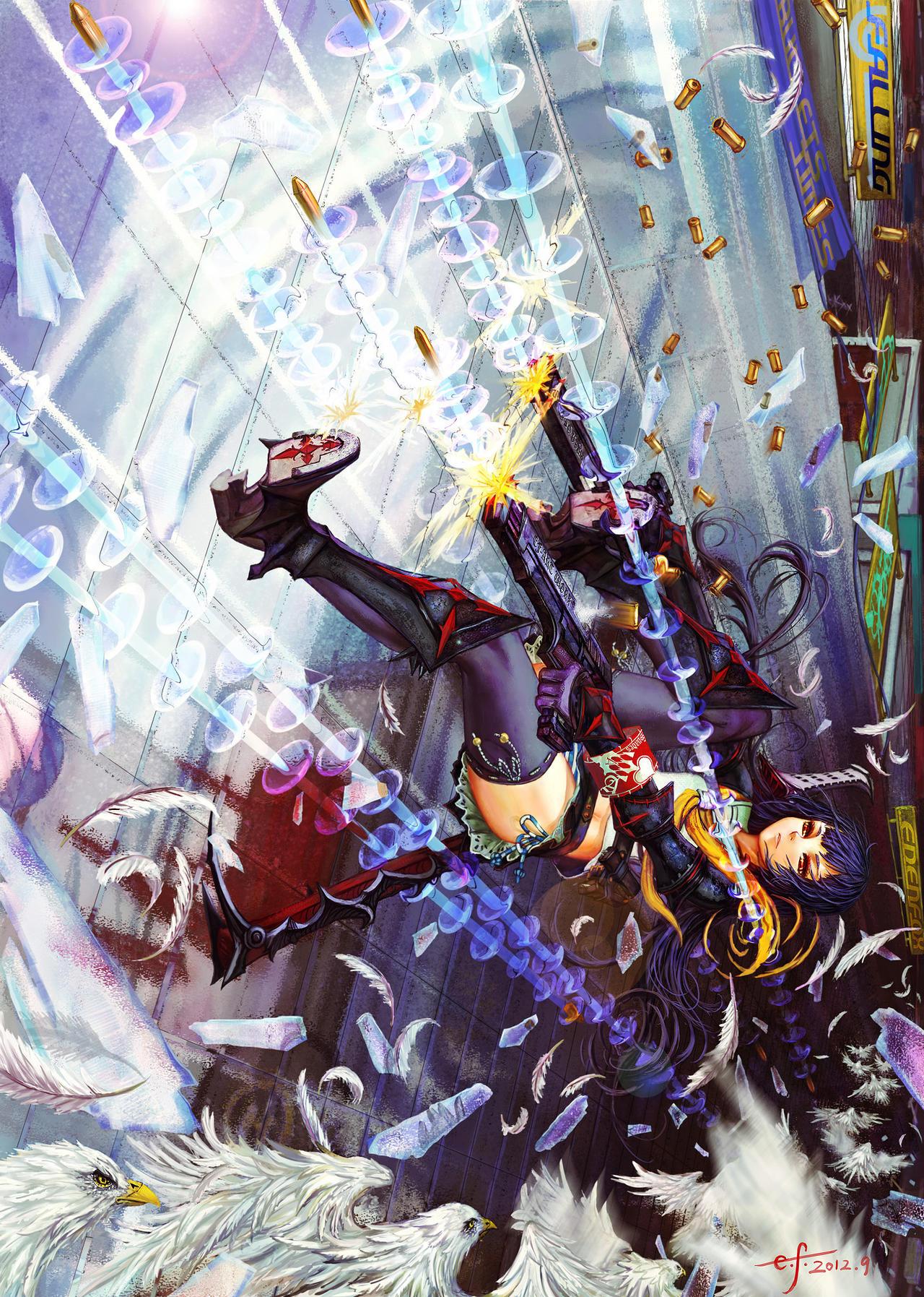 Poker Shoujo Falling Dreams by edenfox