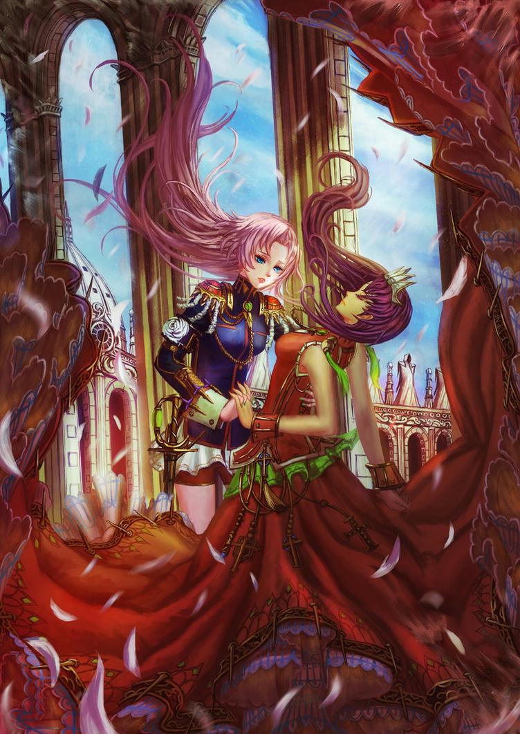 prince(ss) and princess from Shojo Kakumei Utena by edenfox