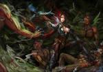 demon hunter from Diablo 3