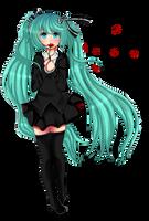 Saihate / Hatsune Miku / Fan art by KoRe-MiChI