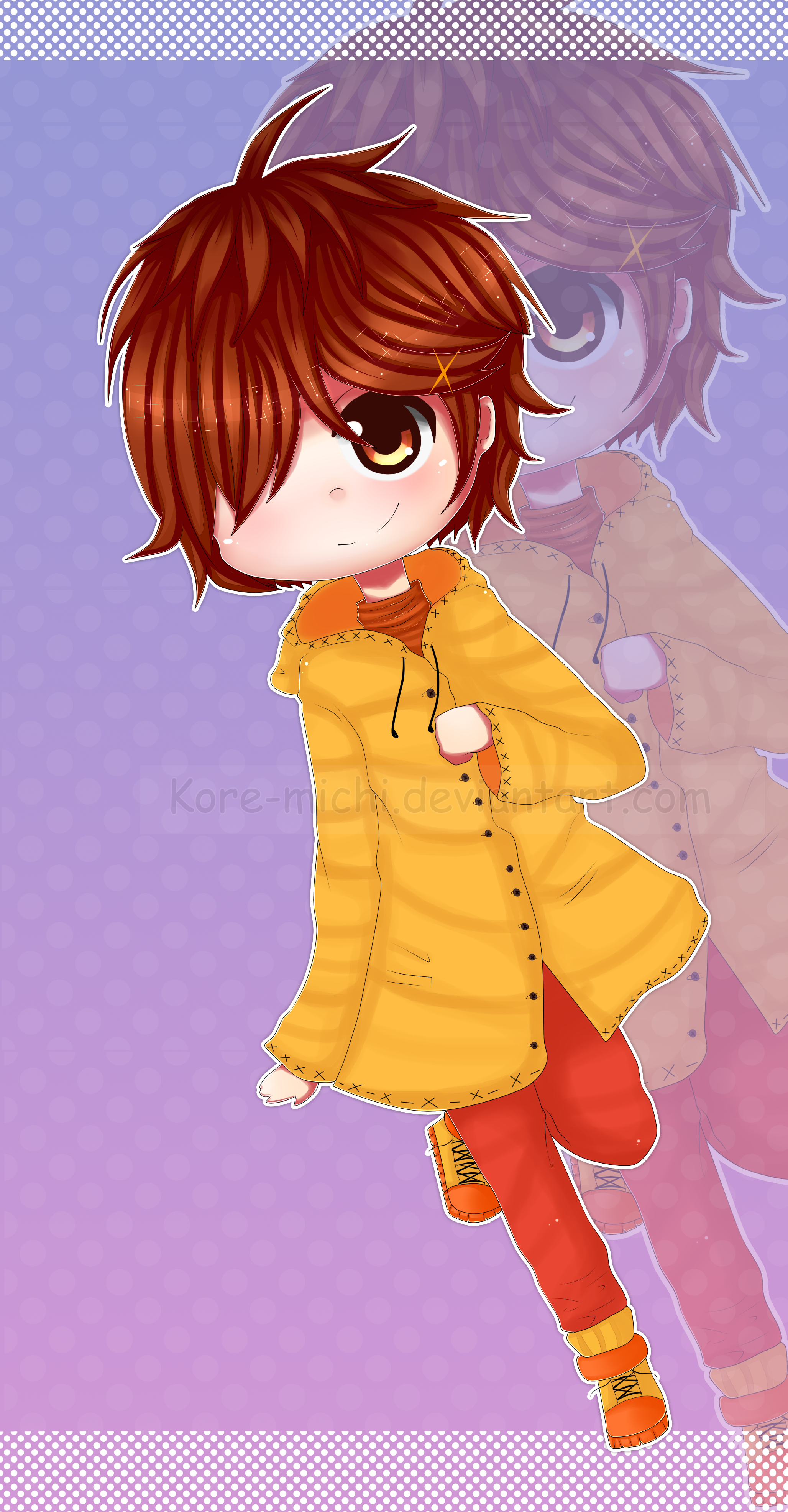 Un Chibi Matthew //Digamos que es un fan art by KoRe-MiChI on DeviantArt