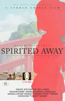 Spirited Away, alternative movie poster