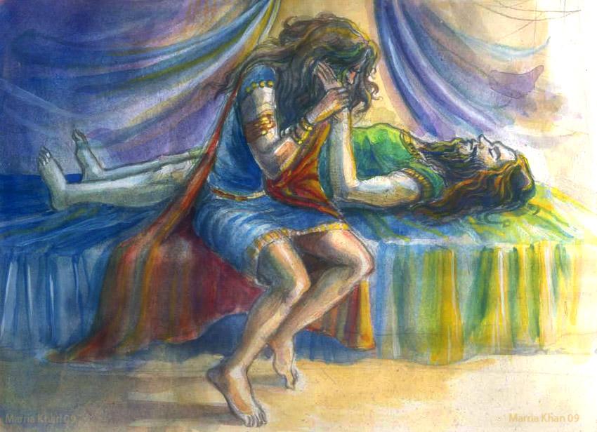 Gilgamesh's lament by merriya on DeviantArt
