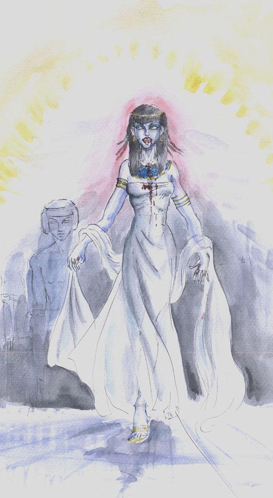Akasha-Queen of the Damned by merriya