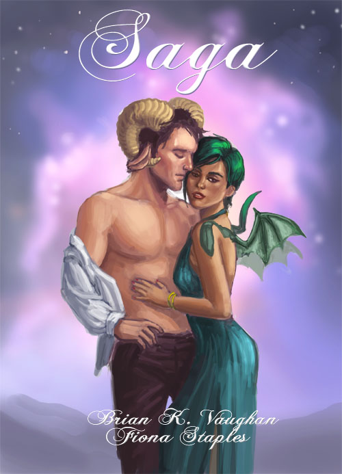 Romance Book Cover Remix : Saga mock romance novel cover by merriya on deviantart