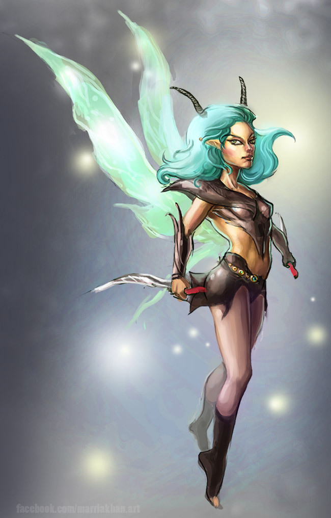 Fairy Warrior by merriya