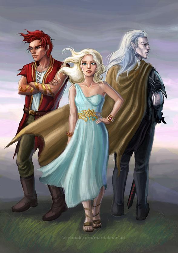 Three Dragons by merriya