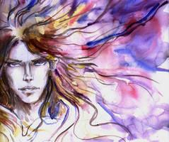 Arioch - Lord of chaos by merriya