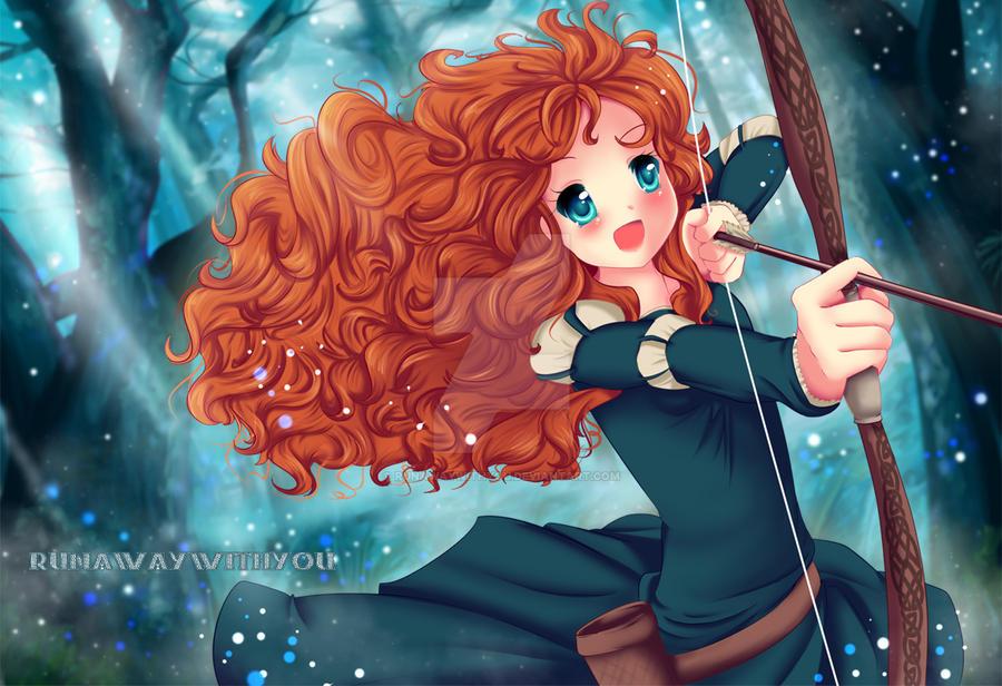 Merida by runawaywithyou