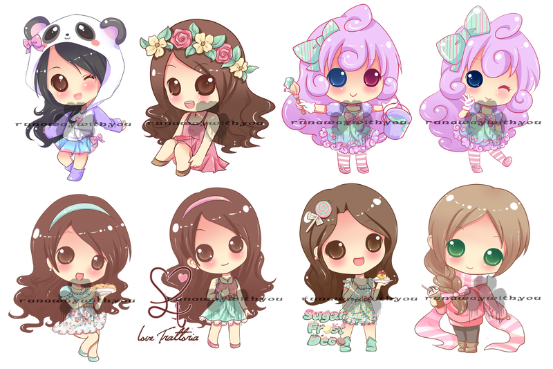 Chibi Commissions By Runawaywithyou On Deviantart