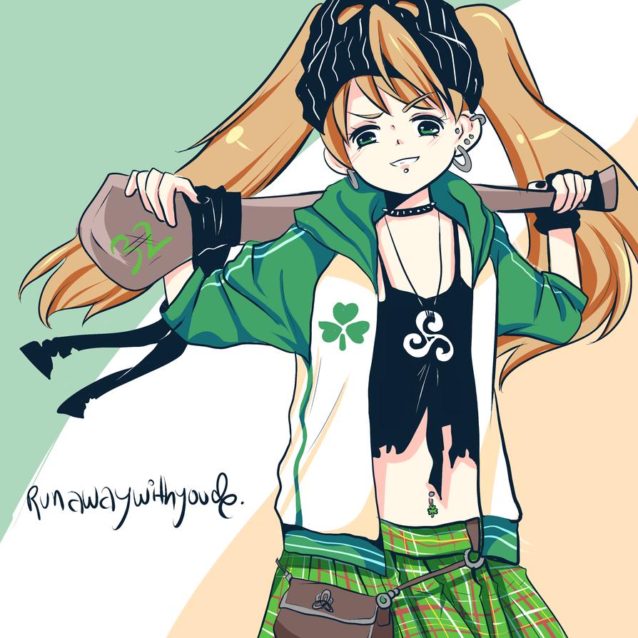 rebel irish girl by runawaywithyou