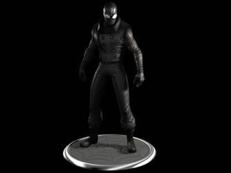 Spider Man Noir by Commander-Zero