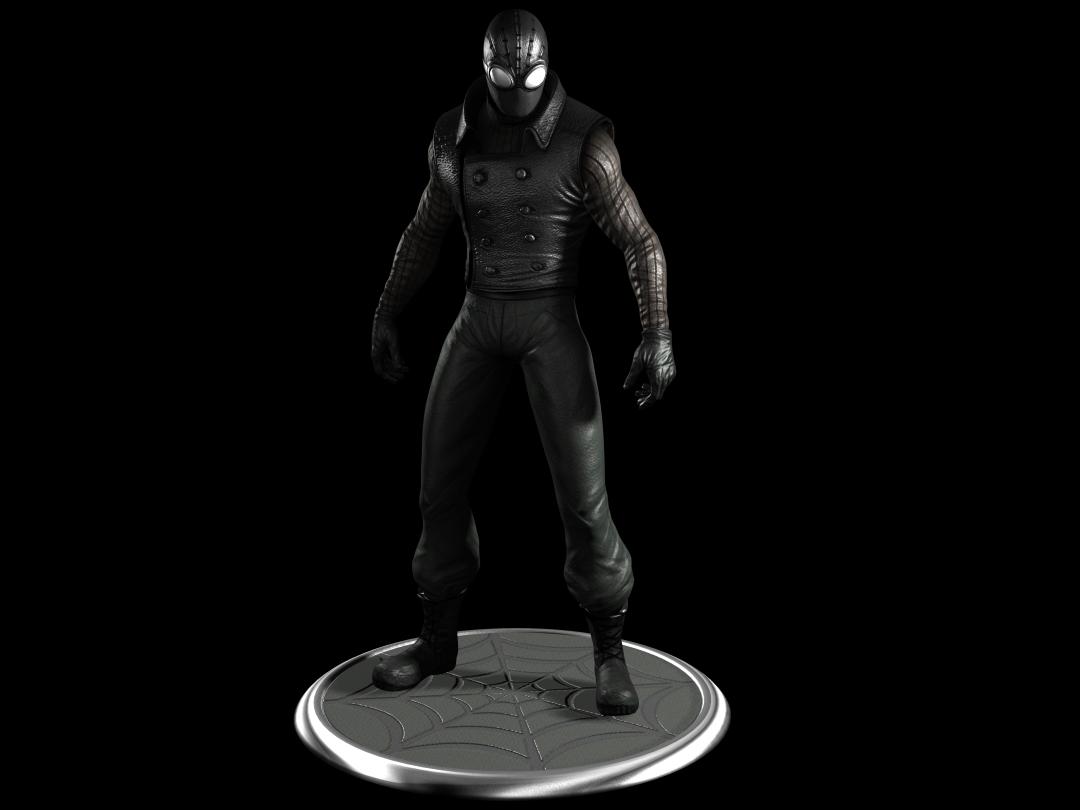 spider man noir by commander zero on deviantart. Black Bedroom Furniture Sets. Home Design Ideas