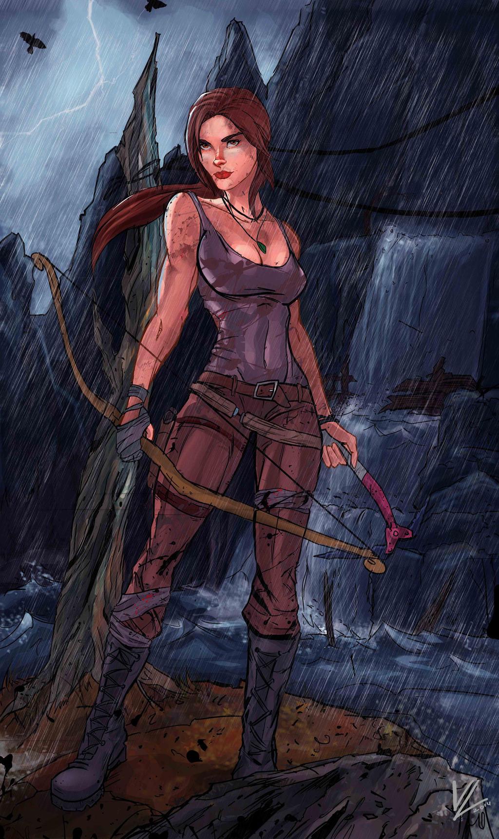 Tomb Raider - Lara Croft by VadimLityuk