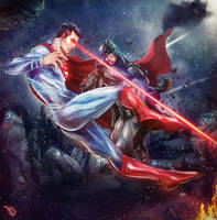 Batman vs Superman by VadimLityuk