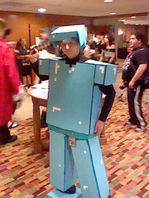NDK 2011 Diamond Mincraft by ShawnSPeters