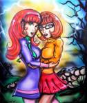 Daphne n Velma vs the Wolfman