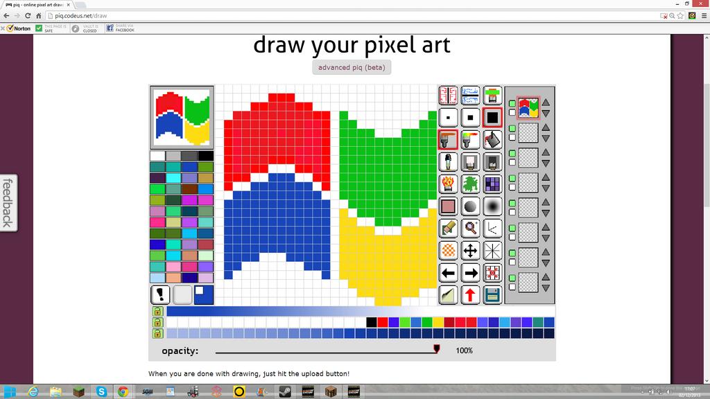 pixel art windows