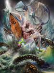 Poseidon by Diosdao Mondero for GODS and GODDESSES