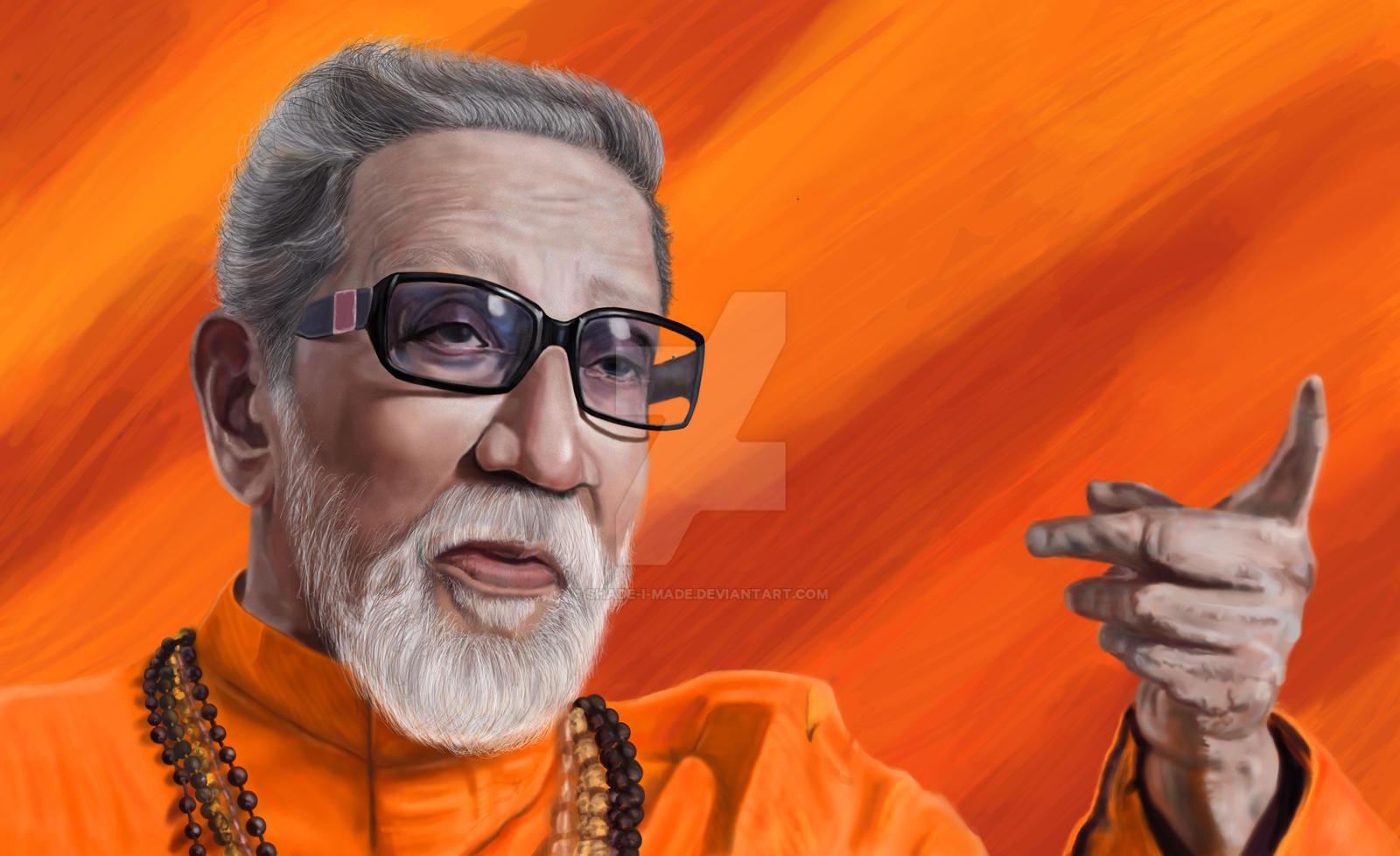 Bal Thackeray By Shade I Made