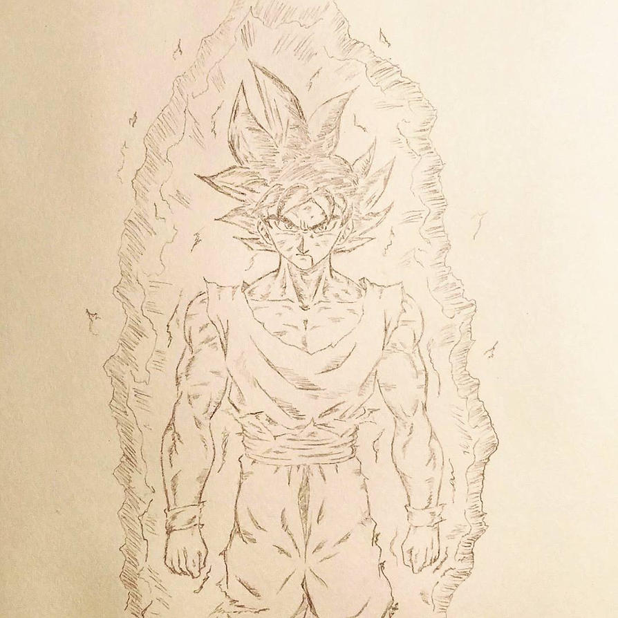 Unionjake jake deviantart - Goku ultra instinct sketch ...