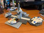 Star Wars mini docking station (Lego MOC)