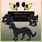 Tangledthorn | REF SHEET COMMISSION by nightmflight