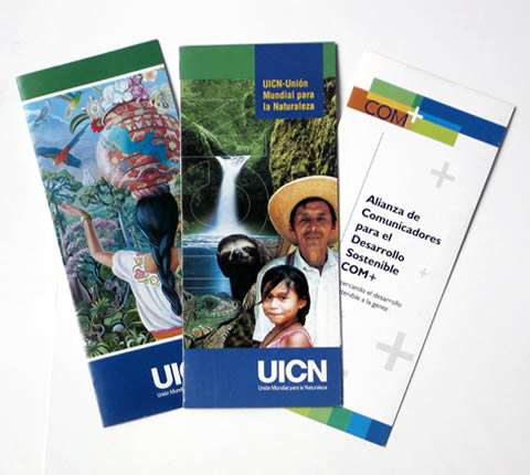 UICN - Brochures by InterGraphicDESIGNS