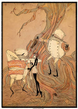 alice and the tweedles