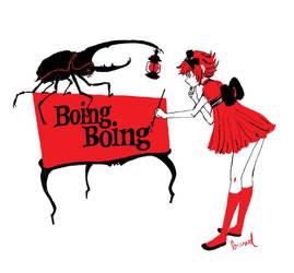 Boing Boing Beetle Tshirt