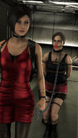 Resident Evil - Ada Captures Claire