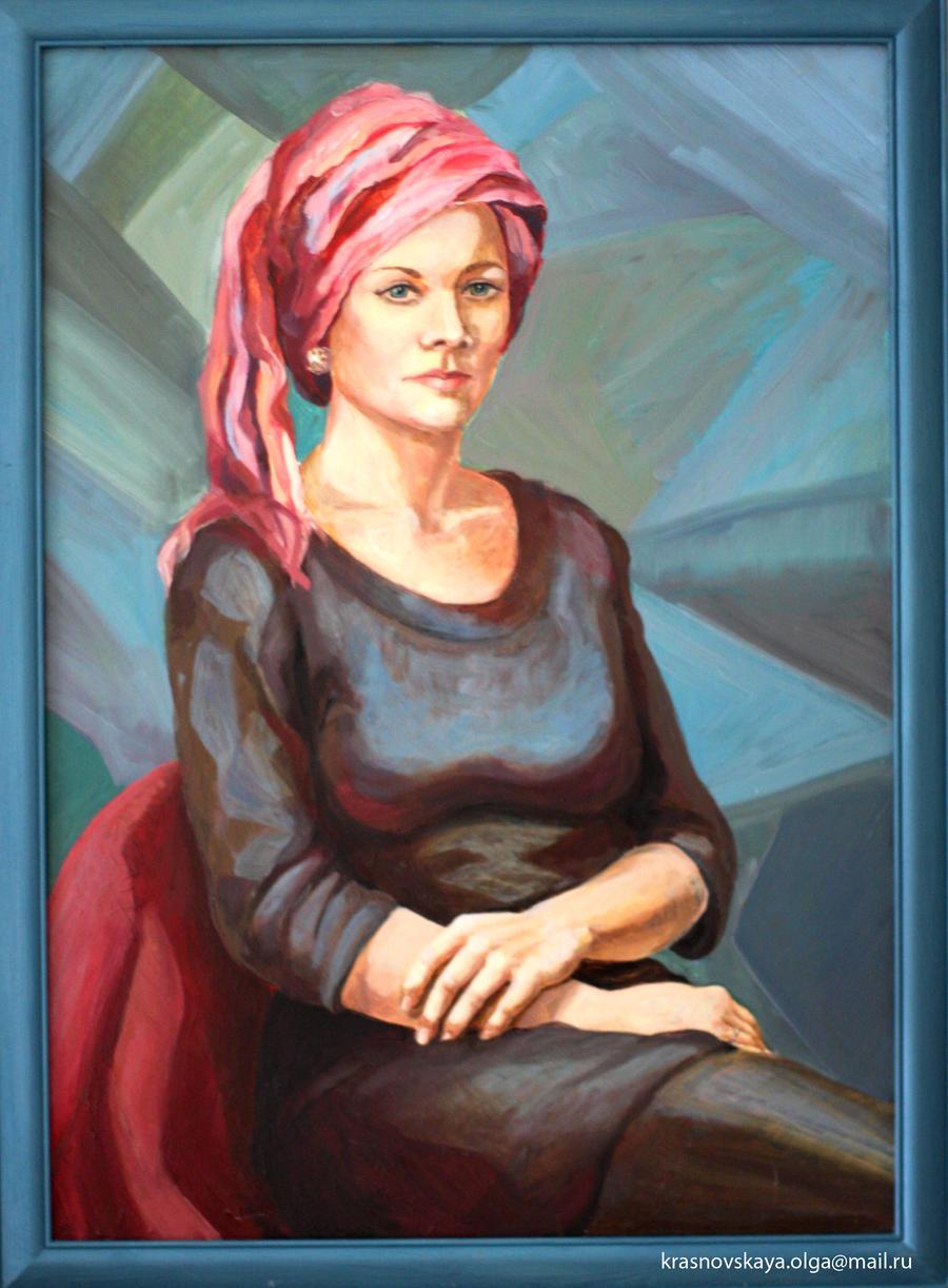 lady by KrasnoVskaya
